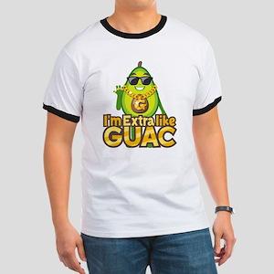 Emoji Avocado Extra Like Guac Ringer T