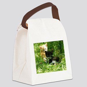 chatons Canvas Lunch Bag