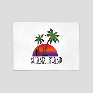 Guiana Island Antigua 5'x7'Area Rug