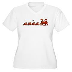 Mama Cat N Kids T-Shirt