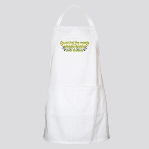 Do not let the weeds grow up BBQ Apron
