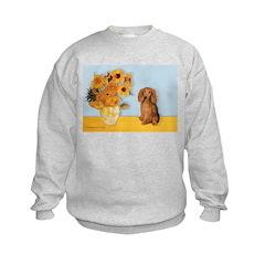 Sunflowers - Doxie (LH,S) Sweatshirt