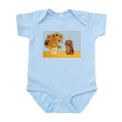 Sunflowers - Doxie (LH,S) Infant Bodysuit