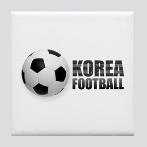 Korea Football Tile Coaster