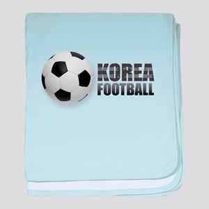 Korea Football baby blanket