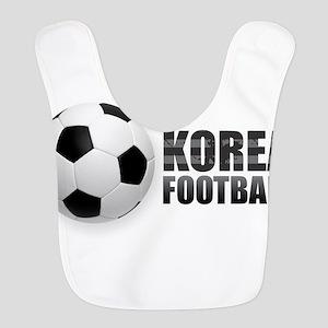 Korea Football Polyester Baby Bib