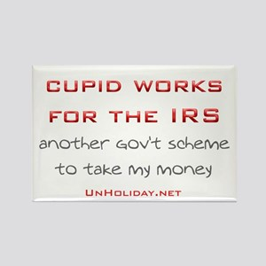IRS Cupid 2 Rectangle Magnet
