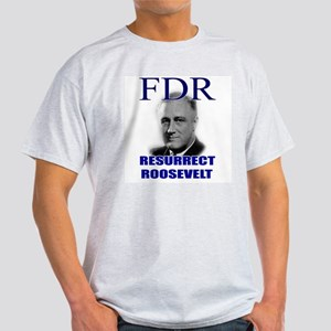 Resurrect Roosevelt Ash Grey T-Shirt