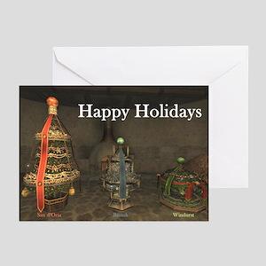 Happy Holidays Tree Greeting Cards (6)