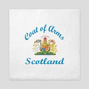 Coat Of Arms Scottland Country Designs Queen Duvet