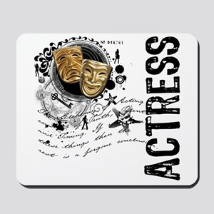Actress Alchemy Collage Mousepad