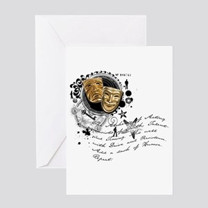 The Alchemy of Acting Greeting Card