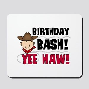 Boys Birthday Bash Mousepad