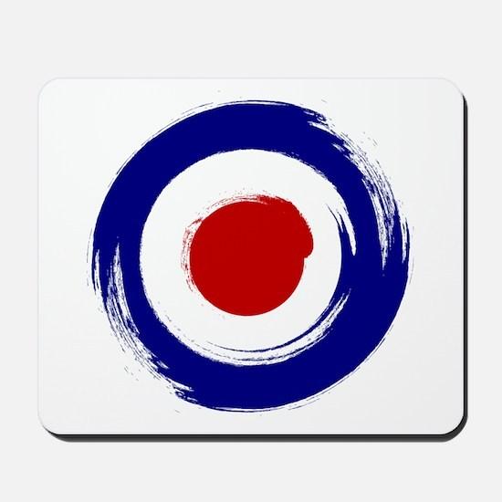 Paint stroke Mod Target design Mousepad