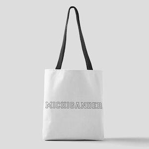 Michigander Polyester Tote Bag