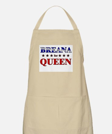 BREANA for queen BBQ Apron