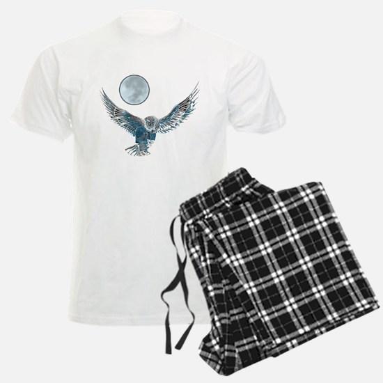 snow owl in flight 1 Pajamas