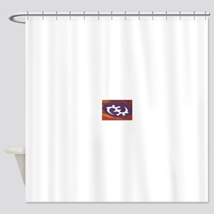 African Symbol (Gye Nyame) Shower Curtain