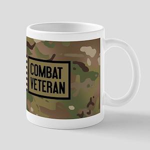 Military: Combat Veteran (Camo) 11 oz Ceramic Mug