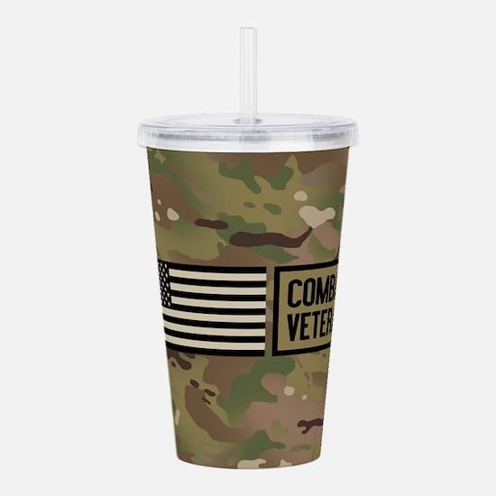 Military: Combat Veter Acrylic Double-wall Tumbler