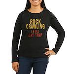 DAY TRIP Women's Long Sleeve Dark T-Shirt