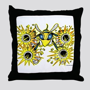 Killer Bee @ eShirtLabs.Com Throw Pillow