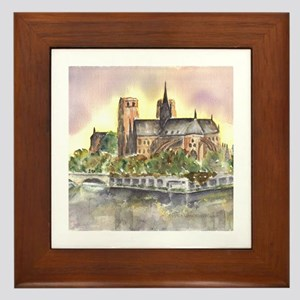 Notre Dame Paris Framed Tile