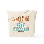 SNOW WHEELING Tote Bag