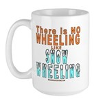 SNOW WHEELING Large Mug