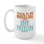 SNOW WHEELING Large Mug