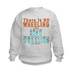 SNOW WHEELING Kids Sweatshirt