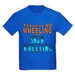 SNOW WHEELING Kids Dark T-Shirt