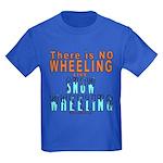 SNOW WHEELING Kids Dark T-Shirt