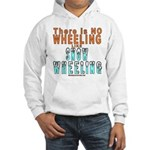 SNOW WHEELING Hooded Sweatshirt