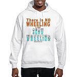 SNOW WHEELING Hooded Sweatshirt