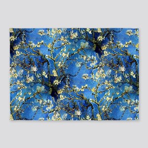 van Gogh 1890 Almond Blossoms 5'x7'Area Rug