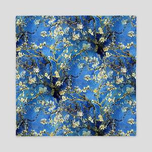 van Gogh 1890 Almond Blossoms Queen Duvet