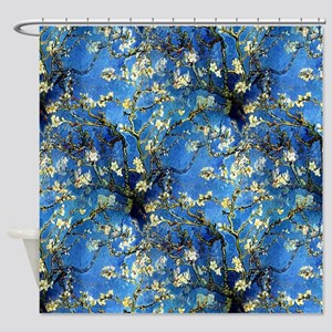 van Gogh 1890 Almond Blossoms Shower Curtain