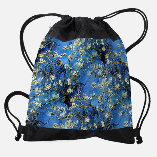 van Gogh 1890 Almond Blossoms Drawstring Bag