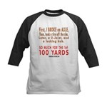 100 YARDS Kids Baseball Jersey