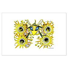 Killer Bee @ eShirtLabs.Com Large Poster