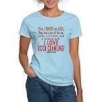 Love Rock Crawling Women's Light T-Shirt