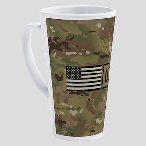 U.S. Air Force: USAF (Camo) 17 oz Latte Mug