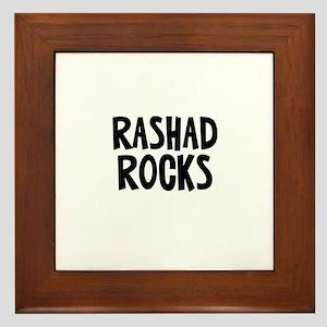 Rashad Rocks Framed Tile