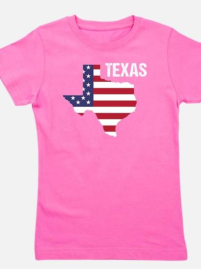 Cute Texas men Girl's Tee
