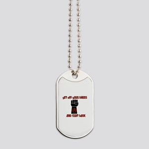 Fight Back Dog Tags