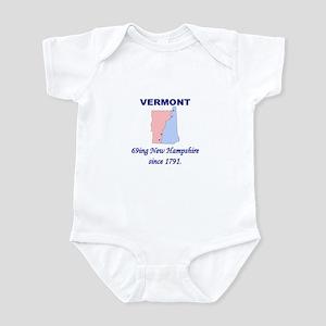 Vermont, 69ing New Hampshire Infant Bodysuit