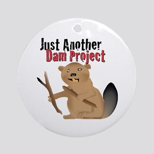 Another Dam Ornament (Round)