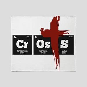 Periodic Elements: CrOsS Throw Blanket