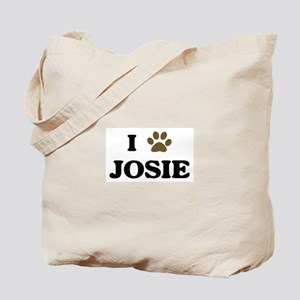 Josie paw hearts Tote Bag